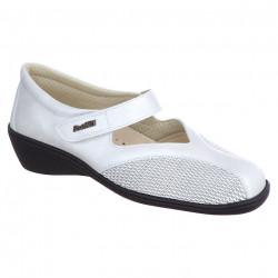Pantofi pentru monturi / Hallux Valgus piele albi dama PodoWell Saga