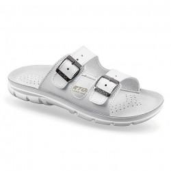 Papuci ortopedici albi, pentru femei si barbati, OrtoMed 3000-3003-P03