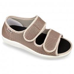 Sandale medicale dama OrtoMed 513-T22 bej