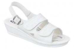 Sandale pentru monturi / Hallux Valgus albe dama Mjartan 2815-P03