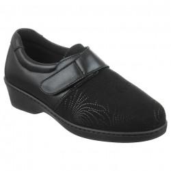 Pantofi ortopedici pentru monturi Hallux Valgus Pinosos 7334 negri