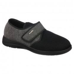 Pantofi de vara ortopedici, negri, barbati, PodoWell Pierrick
