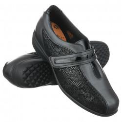 Pantofi ortopedici pentru Hallux Valgus Pinosos 7238 H negri
