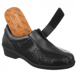 Pantofi ortopedici pentru Hallux Valgus Pinosos 7371 negri