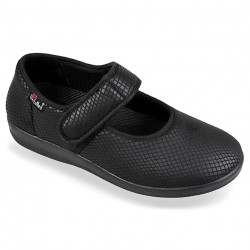 Pantofi ortopedici pentru monturi OrtoMed 6047-S05 negri