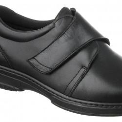 Pantofi ortopedici piele pentru diabetici Pinosos 6176 H negri