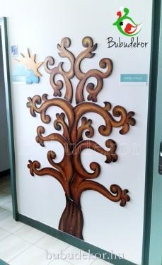 Fa csodafa fali dekoráció életfa indákkal kép