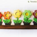 Virágláda napos tábla