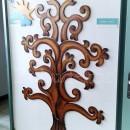 Fa csodafa fali dekoráció életfa indákkal
