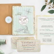 Invitatie de nunta Travel 39743