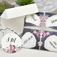 Invitatie de nunta origami 39638
