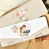 Invitatie de nunta romantica 39761