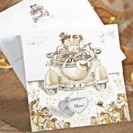 Invtatie de nunta 31509