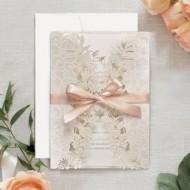 Invitatie de nunta decupaj Laser 39707