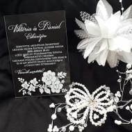 Invitatii de nunta - Plexi - Esküvői meghívó