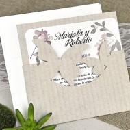 Invitatie de nunta fluturi 39626
