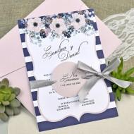 Invitatie motive florale 39609