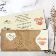 Invitatie de nunta 5669