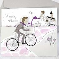 "Invitatie ""bicicleta"" 39220"