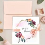 "Invitatie de nunta ""Blush"" 39708"