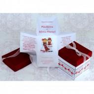 Invitatie de nunta model traditional tip cutie 2218