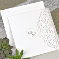 Invitatie de nunta taiere laser 39617