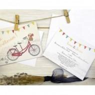 Invitatie bicicleta 32664
