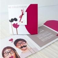 Invitatie comica Bride & Groom 32623