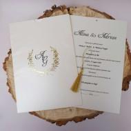 Invitatie de nunta 1142-Butiqline
