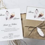 Invitatie de nunta Calatorie 1153