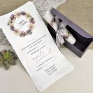 Invitatie de nunta cufar 39627