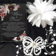 Invitatie de nunta- Plexiglass- Plexi esküvői meghivo