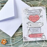 Invitatii de Nunta - 70346