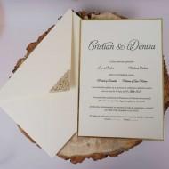 Invitatie de nunta 1146 B