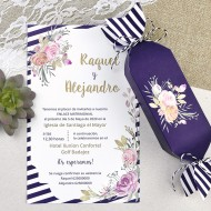 "Invitatie de nunta ""bomboana"" 39607"