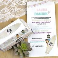 Invitatie de nunta rulota 39603