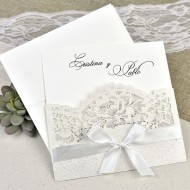 Invitatie de nunta taiere laser 39621