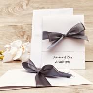 Invitatii nunta - Magic Silver M19