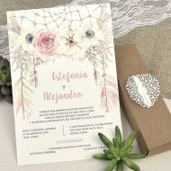 "Invitatie de nunta ""pene"" 39608"