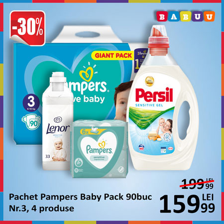Oferta Pampers Baby Pack