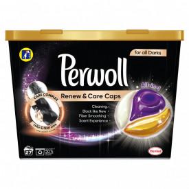 Detergent capsule Perwoll Renew & Care, Black, 27 spalari