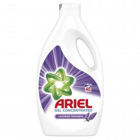 Detergent lichid Ariel Lavanda, 40 spalari, 2.2 L