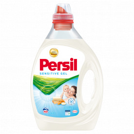Detergent lichid Persil Sensitive Gel, 40 spalari, 2L