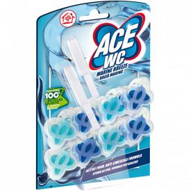 Odorizant toaleta Ace briza marina, 2x48g
