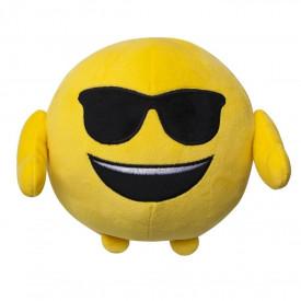 Plus emoticon, față zâmbitoare cu ochelari de soare (smilling face sunglasses)
