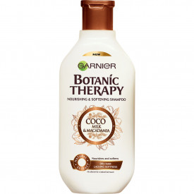 Sampon Garnier Botanic Therapy Coco Milk & Macadamia pentru par uscat, 400 ml
