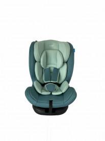 Scaun auto rotativ,isofix, 0-36kg, verde