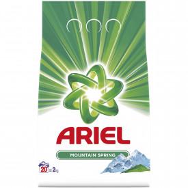 Detergent automat pudra Ariel Mountain Spring, 20 spalari, 2kg