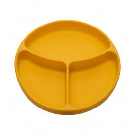 Farfurie compartimentata din silicon cu