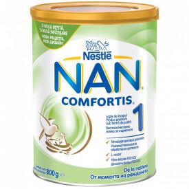 Lapte praf Nestle NAN 1 Comfortis de la nastere, 800g